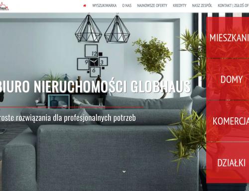 Nowa strona wrocławskiej agencji Globhaus