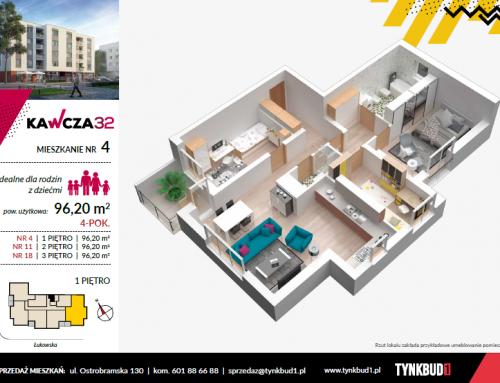 Profesjonalne karty mieszkań 3D dla inwestycji mieszkaniowych