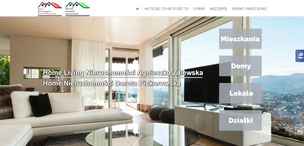 Nowa strona RWD – Home Living
