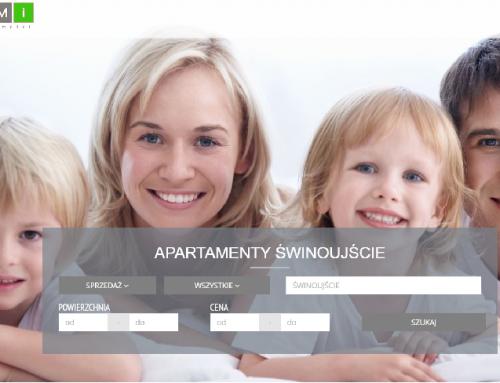 Nowy wygląd strony Domi Nieruchomości
